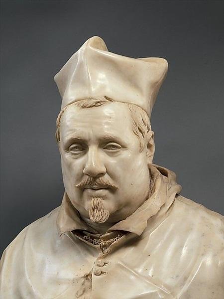 Don Pino Esposito - Scipione Borghese, busto in marmo (Bernini, 1632, Galleria Borghese - Roma)