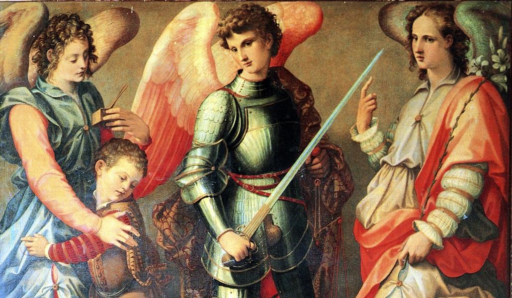 Don Pino Esposito - Festa dei Santi Arcangeli Michele, Gabriele e Raffaele