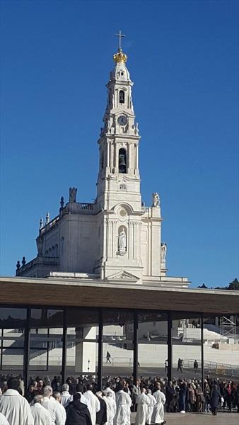 Immagine del Santuario di Fatima